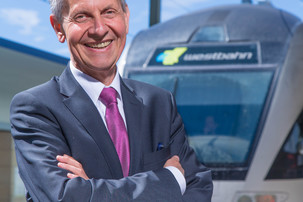 Dr. Erich Forster, CEO WESTbahn Management GmbH