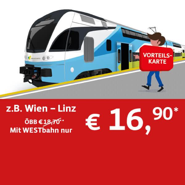 Westbahn Angebote Westbahnat